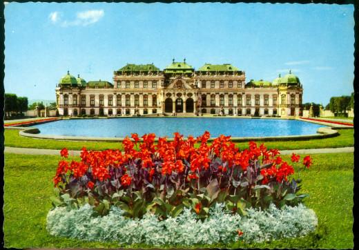 Post card of Parliament at Vienna