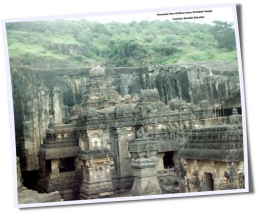 A beautiful scene of Ellora @ Maharashtra