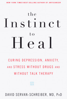 Book cover of The Instinct to Heal scanned by Vinaya