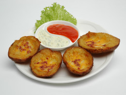 potato skins as appetizer