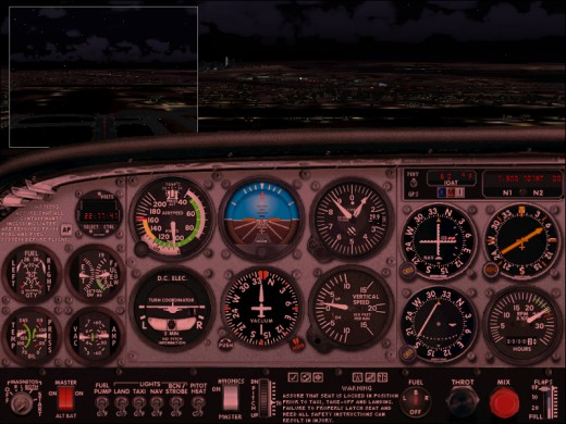 Screenshot of Cessna 172SP Cockpit