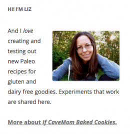 This is what the Image Widget looks like in the sidebar of your website.