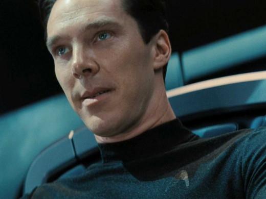 Benedict Cumberbatch was fantastic as Khan.