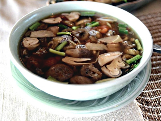 Mushrooms make a wonderful addition to soups