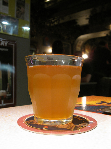 Lambic in glass from Bernt Rostad on Flickr
