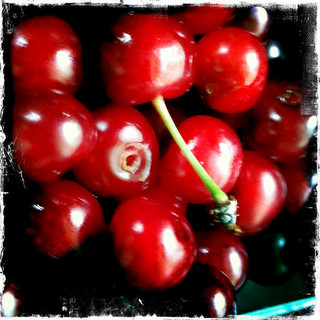 Tart cherries from ReadJulia on Flickr