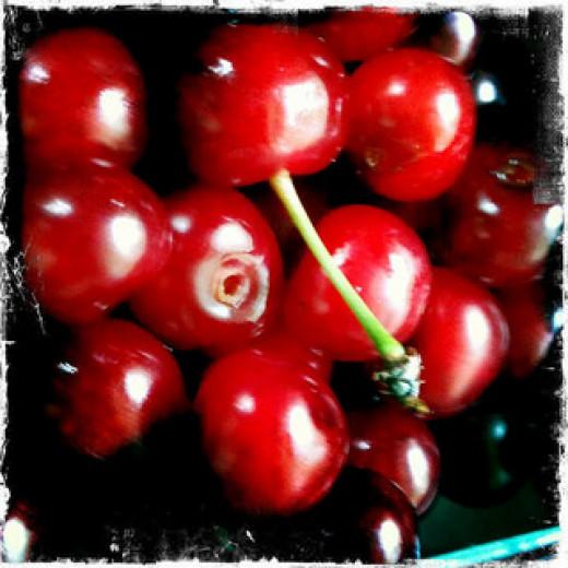Tart cherries from ReadJulia on Flickr