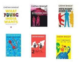 All Novels of Youth Novelist Chetan Bhagat