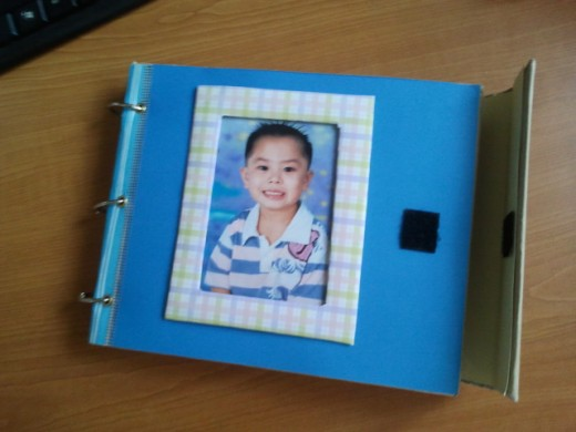Create A Paper Frame For Your Album