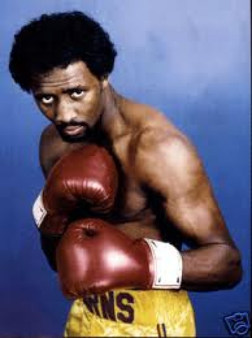 "Tommy"" The Hitman"" Hearns won titles in five different weight classes."