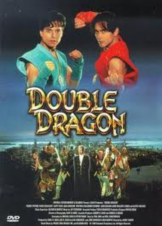 Double Dragon was a hit as an arcade game and as a movie at the theaters. It was later ported to home game consoles.