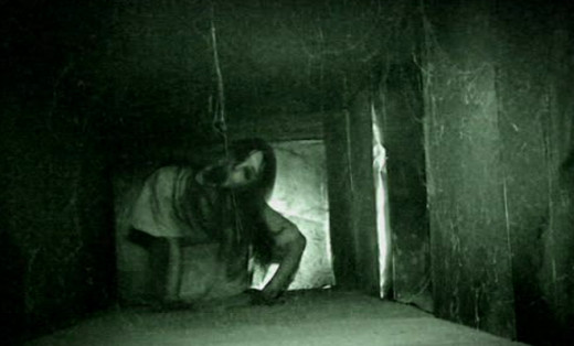 A still from Grave Encounters 2: Shaky camera scenes in the movie gave me headaches