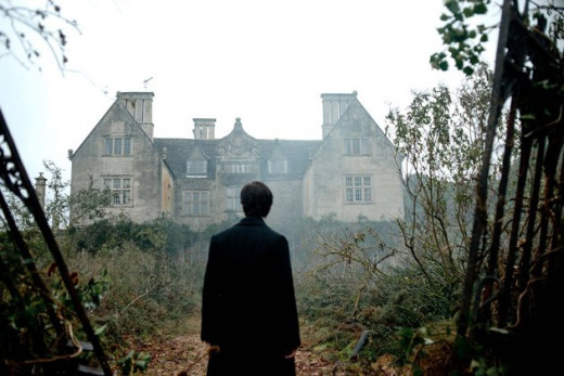 This creepy haunted house was the real star of the movie 'The Woman in Black'.