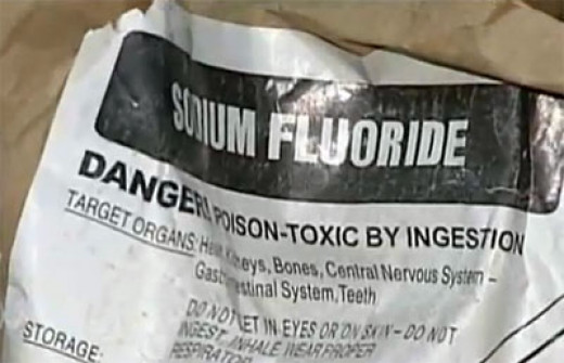 Sodium Fluoride used in mains water