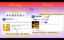 How to Post Instant Video eCards on Facebook (view from within Facebook)