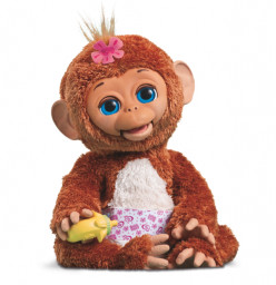 Cuddles, My Giggly Monkey - New From Furreal Friends