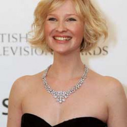 Joanna Page with Princess Necklace