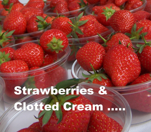Cornish Foods with Protected Status: Clotted Cream, a perfect accompaniment for fresh strawberries