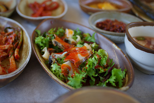 Tasty Korean food from eggnara on Flickr