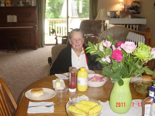 Grandma at Home