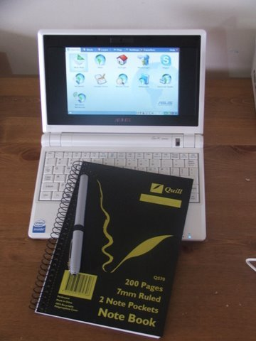 Size Comparison - Netbook -Notebook