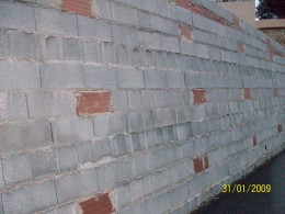 Block walls are ugly