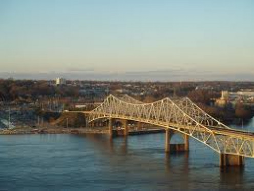 The O'Neil Bridge connects Florence with the Muscle Shoals area.