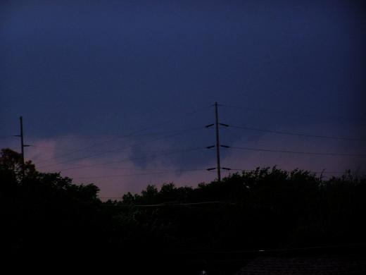 a darkening time