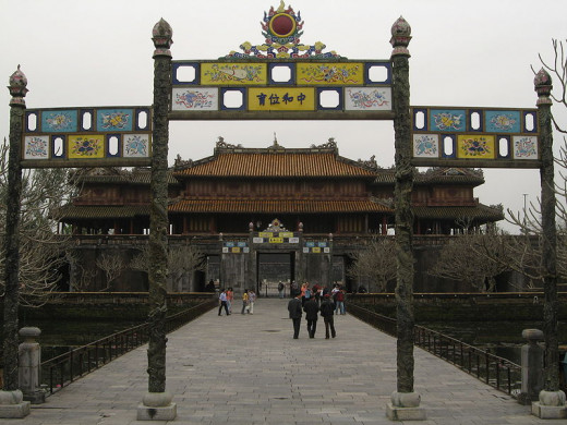 Entrance to the Imperial City