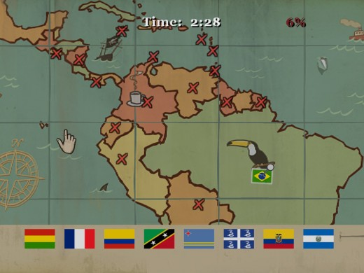 I suddenly found myself learning Central and South American geography.  Who says video games aren't educational?