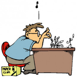 Procrastination is a self defeating behavior.