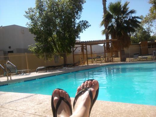 relaxing feet!