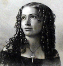 American trance lecturer Cora L.V. Scott.
