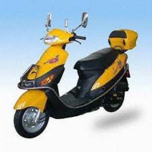 Honda has made many motor scooters throughout the decades. One of their more popular scooters was the Honda Spree.