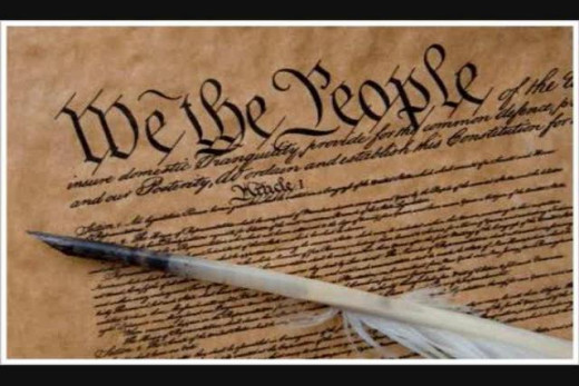 The U.S. constitution gives the American people the unalienable right to Life, Liberty, and the Pursuit of Happiness