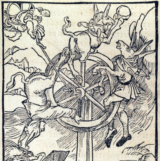 "An illustration for Sebastian Brant's ""Ship of Fools,"" Albrecht Dürer (1498)"