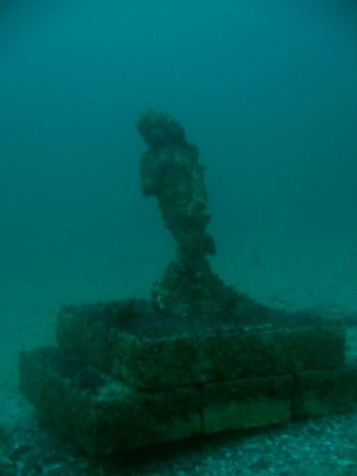 A statue I found in Laguna Beach, CA.