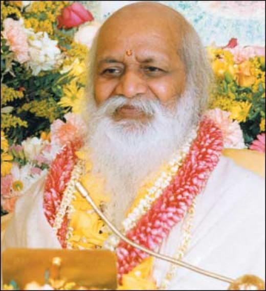 Maharishi Mahesh Yogi, the founder of Transcendental Meditation (TM)