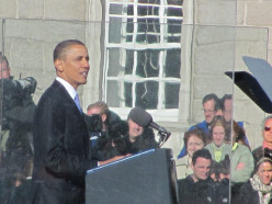 Obama as Othello - A Shakespeare Parody. Act 5 Scenes 2 & 3 : Obama visits Dublin and London.