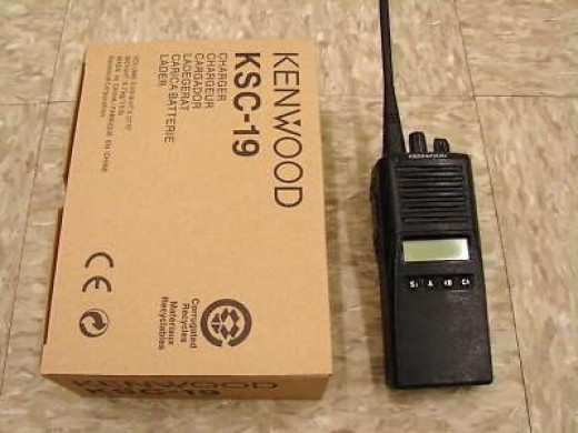 Kenwood Trunk Radio