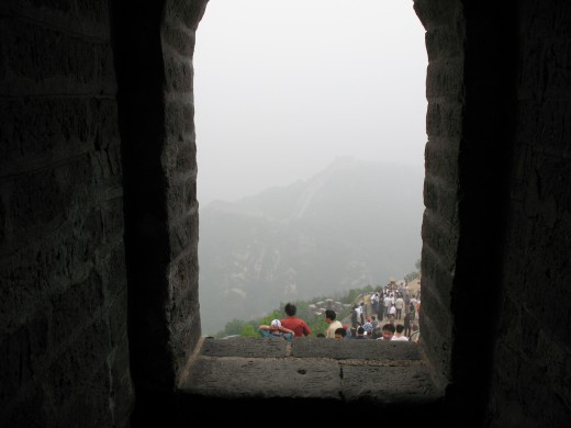 View from a watchtower