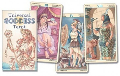 Universal Goddess Tarot Cards (English and Spanish Edition) by Lo Scarabeo
