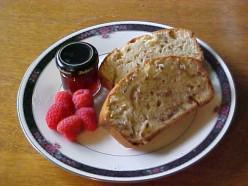Quick & Easy Banana Walnut Bread Recipe  - for Breakfast Too!
