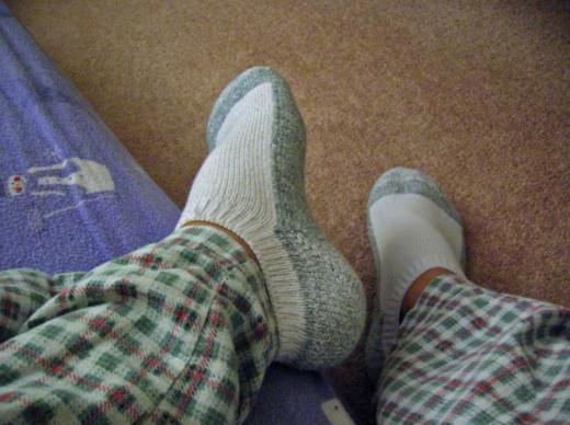 Socks are soooo Nice!