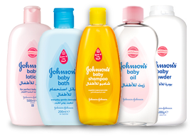 Every product in the JOHNSON'S® Baby range is specially formulated for baby's delicate skin, and clinically proven to be mild, gentle and safe to use.