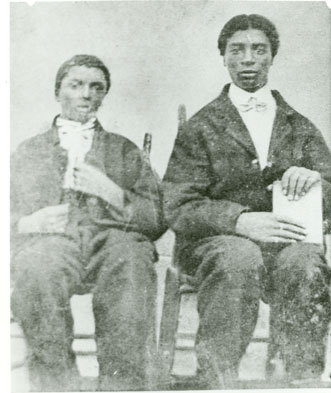 George Washington Carver and Jim Carver