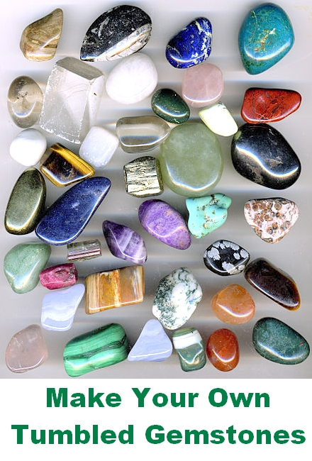 Using a Tumbler for Jewellery: Make Your Own Tumbled Gemstones