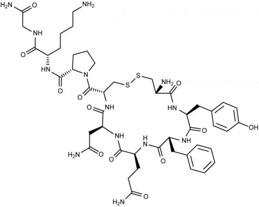 Vasopressin Structure