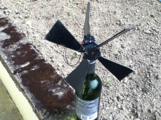 Mini DIY turbine
