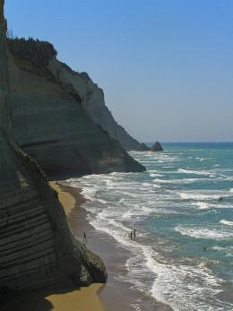 Peroulades beach, Corfu
